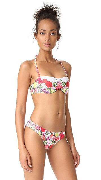 PilyQ Eden Bandeau Bikini Top