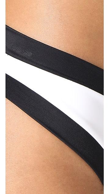 PilyQ Tux Sporty Bikini Bottoms