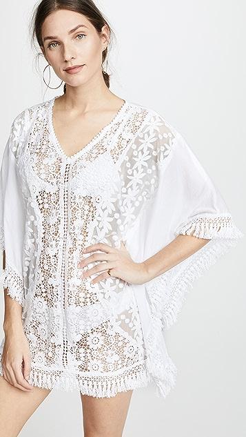 PilyQ Amira Lace Tunic