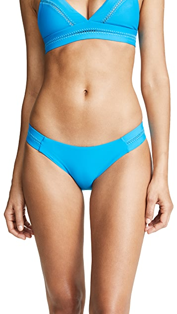 PilyQ Stitched Tab Bikini Bottoms