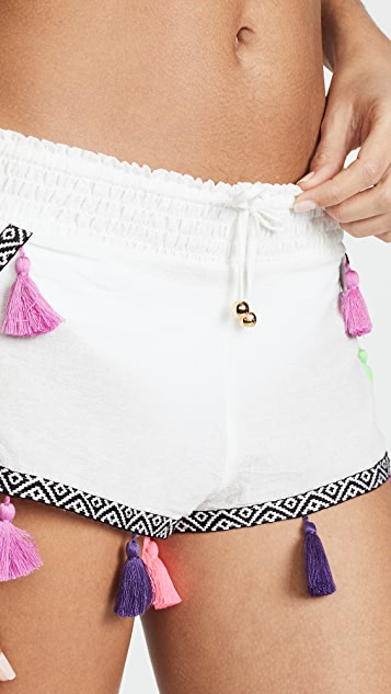 PilyQ Tassel Shorts