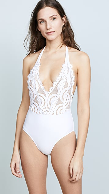 PilyQ Lace One Piece Swimsuit