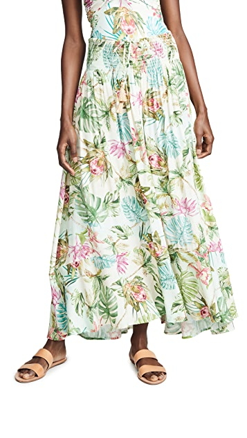 PilyQ Tulum Carolina Skirt
