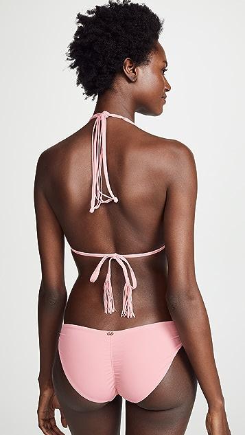 PilyQ Riviera Isla Tri Bikini Top