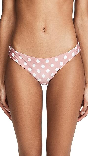 PQ Swim Basic Ruched Bikini Bottoms