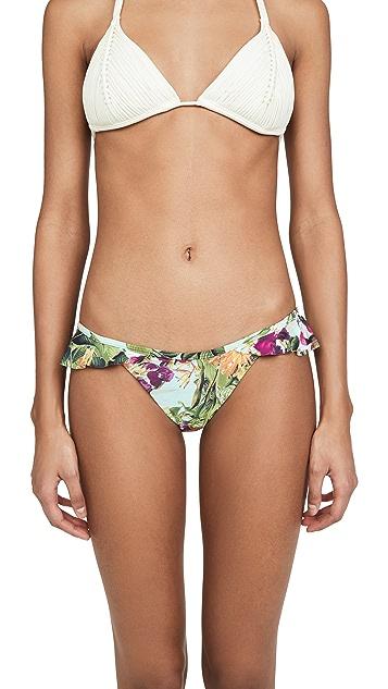 PQ Swim Floral Ruffle Bikini Bottoms