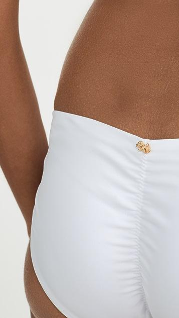 PQ Swim 基本款抽皱比基尼泳裤