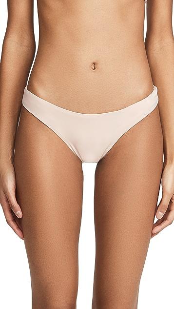 PQ Swim 基本款抽皱全包覆比基尼泳裤