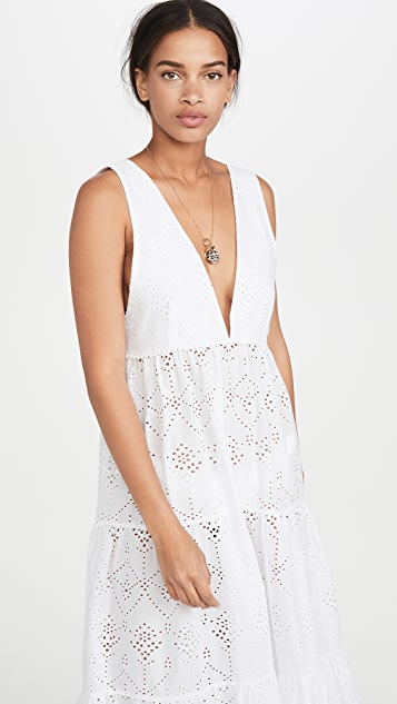 PQ Swim Anne Eyelet Dress