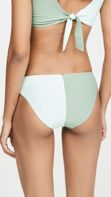 PQ Swim Two Tone Bikini Bottoms