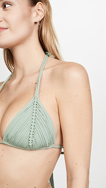 PQ Swim Isla Triangle Bikini Top