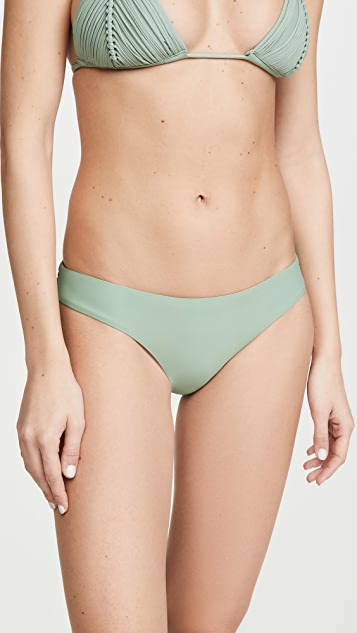 PQ Swim Basic Ruched Full Bikini Bottoms