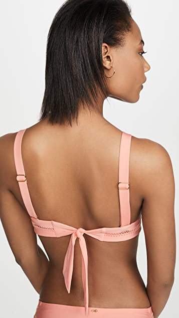PQ Swim Stitched Ellie Halter Bikini Top