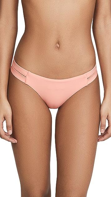 PQ Swim 缝线宽摆比基尼泳裤
