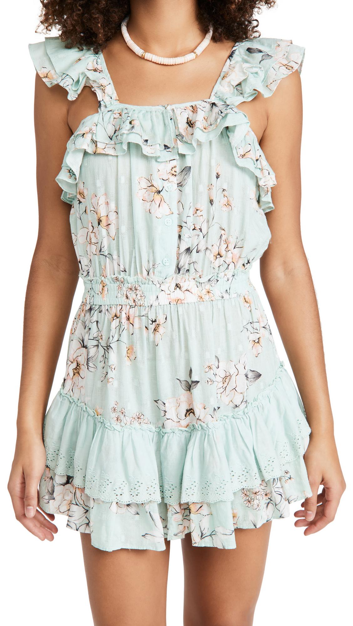 PQ Swim Cate Ruffle Dress