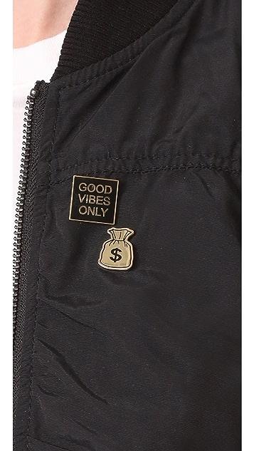 Pintrill Money Bag Pin
