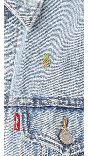 Pintrill Pineapple Pin