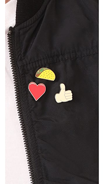 Pintrill Taco Pin