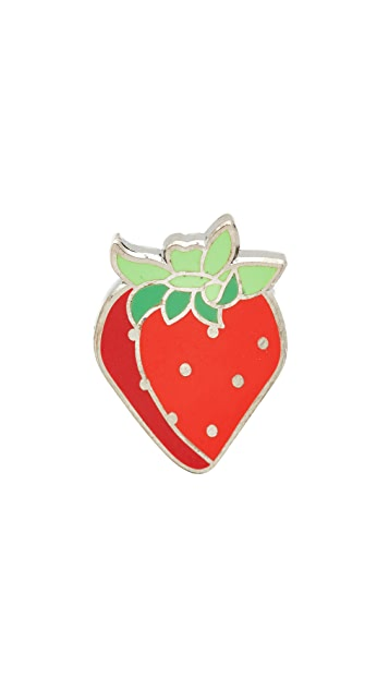 Pintrill Strawberry Pin