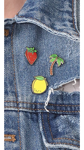 Pintrill Palm Tree Pin