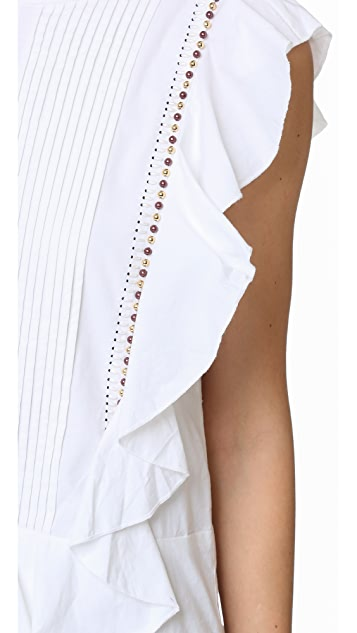 Piper Ruffle Mini Dress