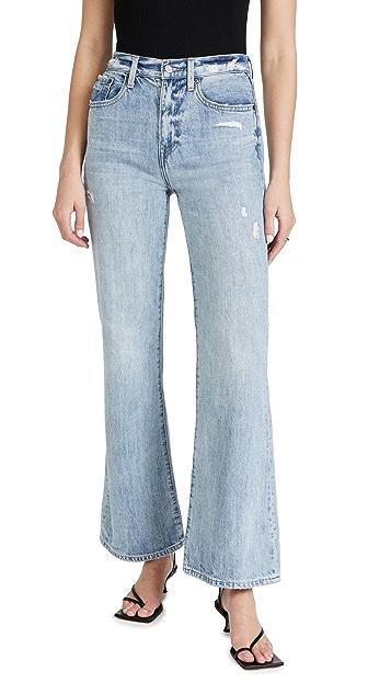 Pistola Denim Stevie High Rise Wide Leg Jeans