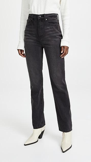 Pistola Denim Cassie Super High Rise Straight Jeans
