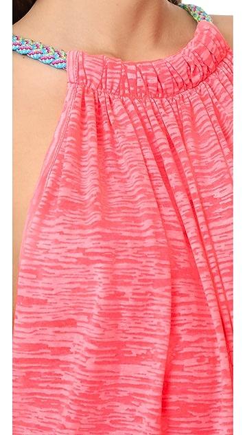 Pitusa Пляжное мини-платье Aegean