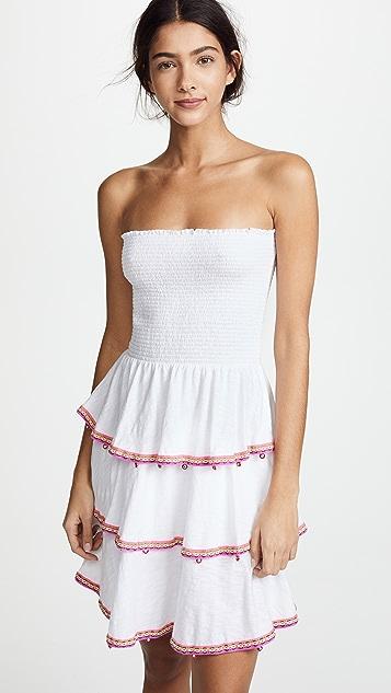 Pitusa Samba Dress - White