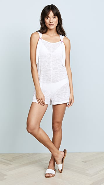 Pitusa Cross Back Romper