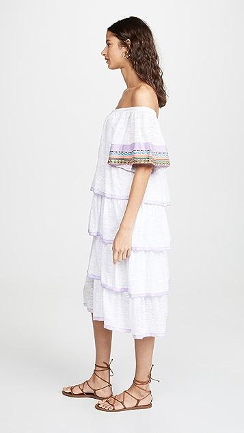 Pitusa 波西米亚风情连衣裙
