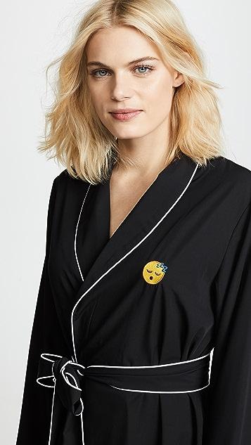 Piu Sleeping Emoji Robe