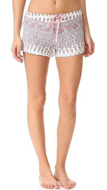 PJ Salvage Floral Paisley PJ Shorts