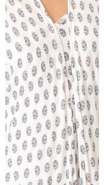 PJ Salvage Floral Paisley Kimono