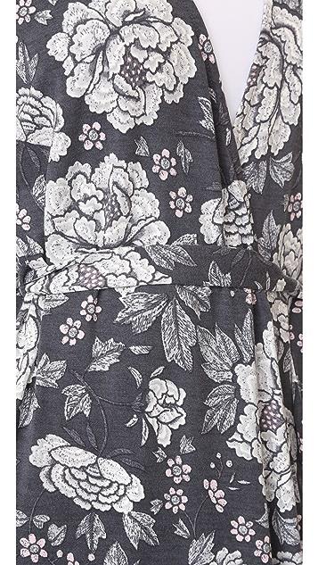 PJ Salvage Happy Flowers Robe