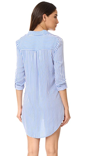 PJ Salvage Summer Stripes PJ Shirtdress