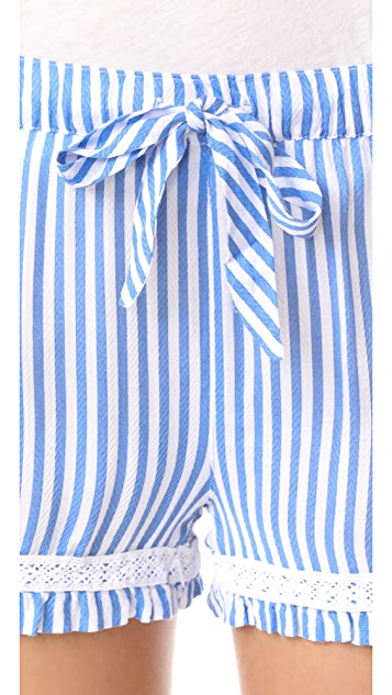 PJ Salvage Summer Stripes PJ Shorts