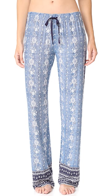 PJ Salvage Denim Blues PJ Set