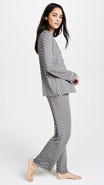 PJ Salvage Polka Dot Pajama Set