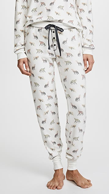 PJ Salvage Fox Lounge PJ Pants ...