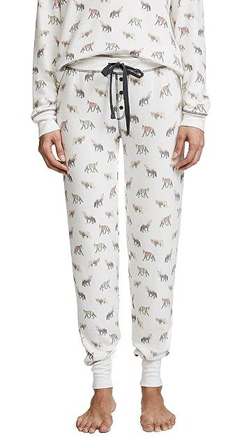 PJ Salvage Fox Lounge PJ Pants
