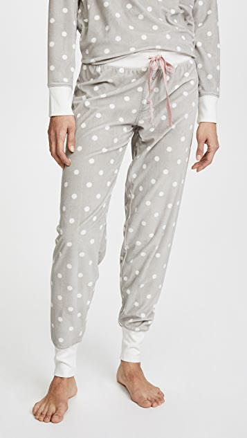 PJ Salvage Cozy Dots PJ Bottoms
