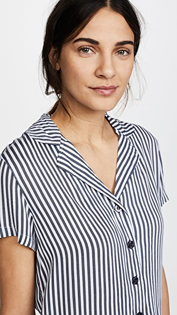 PJ Salvage Simple Stripes PJ Set