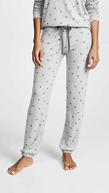 PJ Salvage Peachy Party Sweats