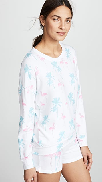 PJ Salvage Tropicana Pajama Top