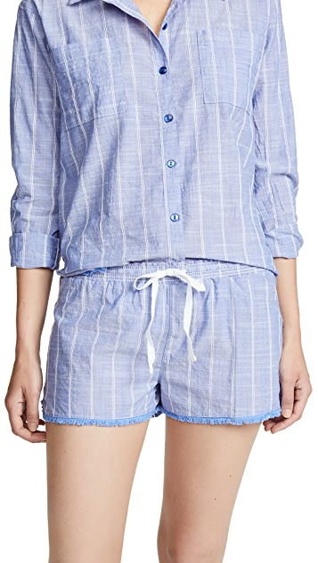 PJ Salvage Feelin' Blue PJ Shorts