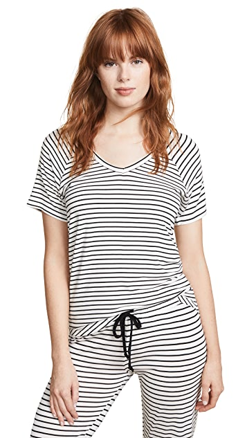 PJ Salvage V Neck Tee