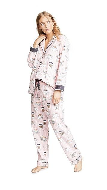 PJ Salvage Rise & Grind Pajama Set