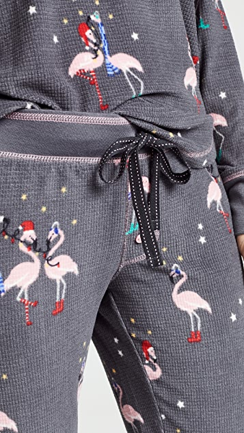 PJ Salvage Let's Flamingle Pajama Bottoms
