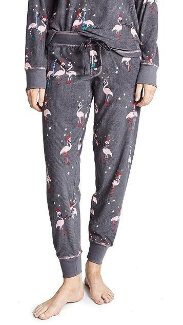 PJ Salvage Let's Flamingle Pajama Bottoms